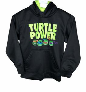Boy's Size M (8) Teenage Mutant Ninja Turtles Hoodie Kids Nickelodeon Black