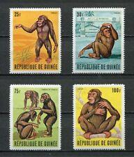 27259) GUINEA 1969 MNH** Nuovi** Tarzan  - Chipanzee 4v