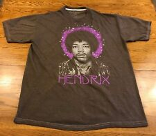 Jimi Hendrix T Shirt Ripple Junction Adult Xl Extra Large Brown
