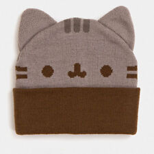 NEW! PUSHEEN Cat Ears Face Beanie Hat Cap – Rare HTF! NWT!