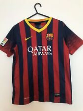 Barcelona 2013/14 Home Football Shirt Childrens Size Large Boys 12-13y