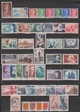 STAMPS - ANNÉE COMPLÈTE 1955 -Y&T N°1008 à 1049 NEUFS**  ++ Célébrités 1027/1032