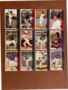 (2,100) DOUG CLARK 1999 Just - Bakersfield Blaze / S.F. Giants Baseball LOT