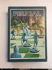 1967 Feudal 3M Company Bookshelf Game Avalon Hill Complete with  baggied  pieces