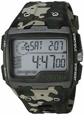 Timex Men's Expedition Grid Shock Digital Vibrating Alarm INDIGLO Camo Watch