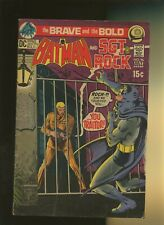 Brave and the Bold 96 VG+ 4.5 * 1 Book Lot * Batman! Sgt. Rock! Haney & Cardy!