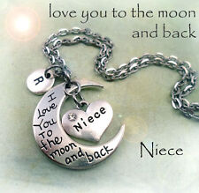 Niece - I Love You to the Moon and Back Necklace * Gift for Special Niece