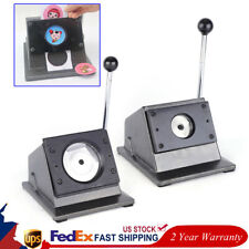 Manual Round Punch Die Cutter Graphic Die Cutter Badge/Button Maker Functional
