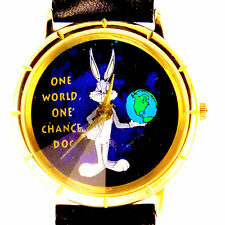 Bugs Bunny Warner Bros, Extremely Rare Fossil Prism Cut Crystal, New Unworn $115