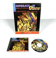 Operation Odin PC Macintosh Game BIG BOX Retro 1996 Gaming Windows Koch WORKING