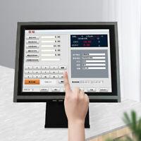 "POS 15"" Touch Screen LED TouchScreen Monitor Retail Kiosk Restaurant Bar USA NEW"