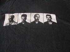 U2 RARE 1997 POP MART TOUR CONCERT TEE SHIRT LARGE TOURDATES ON BACK