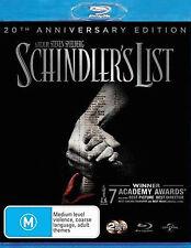 Schindler's List (Blu-ray, 2013, 2-Disc Set)