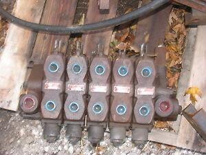 Deltrol Hydraulic 5 Spool Valve John Deere Case IH Ford Allis