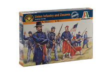 ITALERI 6012. UNION INFANTRY including ZOUAVES. AMERICAN CIVIL WAR. 1:72 SCALE