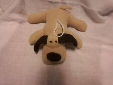 Bath Sponge, Scrubby Animal Childrens, Cotton Flax Scrubby (Puppy Dog) #855
