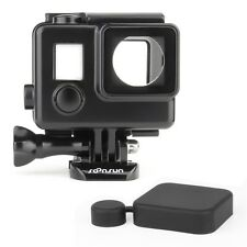 Water Resistant Waterproof Blackout Housing w/ Touch Backdoor for GoPro Hero 4 3