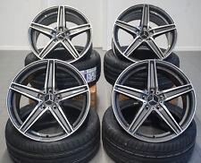 20 Zoll Ultra UA7 Alu Felgen Grau für Mercedes CLA A C GLK GLE R Klasse AMG W176
