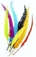 "50 OSTRICH NANDU Trimmed PLUMES 18-23"" MANY COLORS; Hats/Halloween/Mardi Gras!"