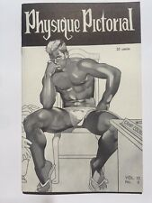 January 1966 Physique Pictorial Gay Men's Erotic Magazine
