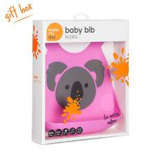 Make My Day Silicone Bib - Pink Koala