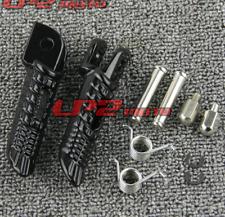 Foot Pegs Front Footrest For  Suzuki GSX-R600 GSXR600 2006-2019 Black