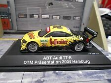 AUDI TT R TT-R DTM TAXI Hamburg Präsentation Abt Hasseröder Schuco S-Preis 1:43