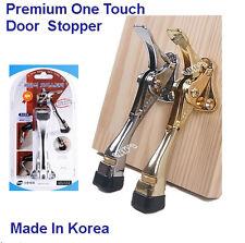 Premium Door Stop Holder Hinged Flip Kick Down Door Stopper Doorstops One Touch