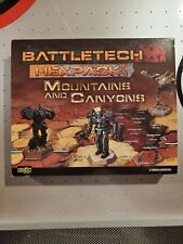 BattleTech 35142: Hexpack: Mountains and Canyons: Complete
