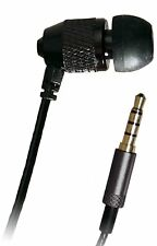 """Breve BOCCIOLI 15 """" (37) Cord SINGLE stereo-to-mono CUFFIE A CLIP I lettori MP3"""