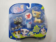 LPS Littlest Pet Shop Messiest #815 #816 Cats NIP Rare Misprint Retired Hasbro