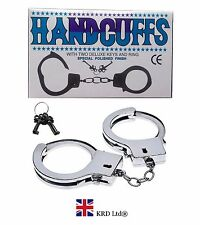 Novelty Steel Metal Handcuffs Keys Handcuff Hen Stag Night Sex Aid Policeman