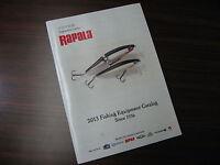 Rapala 2013 Fishing Equipment Catalog Since 1936