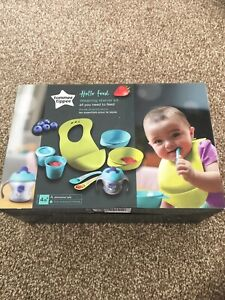 Tommee Tippee Toddler Weaning Kit | Baby-Led Feeding | Infant Food Accessories