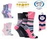Gentle Grip Socks Ladies Womens Non Elastic Socks HoneyComb Top 3 Pairs Size 4-8