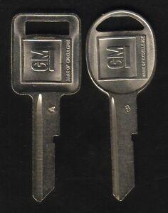 OLDSMOBILE 1967 1971 1975 1979 1983 1984 1985 GM KEY BLANKS