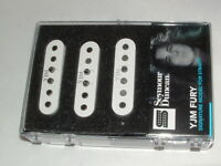 Seymour Duncan STK-S10 YJM Fury Matched Pickup Set WHITE   New with Warranty