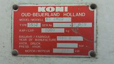 Fangmutter Folgemutter safety nut Romeico H220 Koni K0 2M20 KN2 M20 Zippo 1135