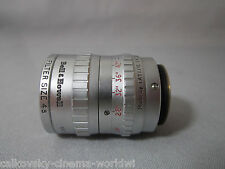 SUPER-16! ENGLAND TAYLOR HOBSON 1.9/25MM C-MOUNT LENS BMPCC 16MM MOVIE CAMERA