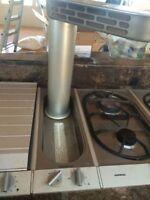 Gaggenau Vario Profesional Silver Series Stovetop stove top system RARE miele