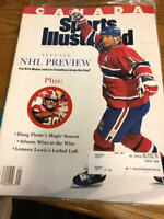 October 11, 1993 Kirk Muller Montreal Canadiens Sports Illustrated CANADA RARE