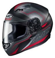 CASCO HELMET CAPACETE INTEGRALE HJC CS 15 TRION MC1SF NERO OPACO RED ROSSO TG M