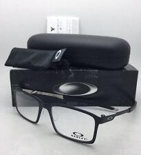 New OAKLEY Eyeglasses STEEL LINE S OX8097-0154 54-17 140 Satin Black Frames