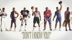 "Vintage 1989 1st Print Nike BO JACKSON  ""Don't I Know You?""  Poly Factory Sealed"