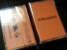 PIG HEART TRANSPLANT For Mass Consumption CASSETTE industrial Iron Lung swans