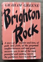 Brighton Rock Graham Greene 1938 1st UK Edition Very Good