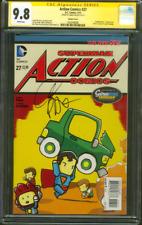 Superman Action Comics 27 CGC SS 9.8 Greg Pak Scribblenauts Homage 1 Variant