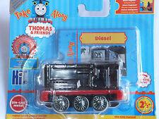 BRAND NEW Take Along/Take-n-Play Thomas 'DIESEL' (METALLIC) - FREE P&P!