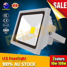 OZ 10W-100W High Power LED Floodlight SMD Outdoor Flood Spotlight 220-240V IP65
