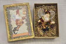 Mark Roberts PARTRIDGE In A Pear TREE Fairy SANTA Christmas ORNAMENT w/ GIFT Box